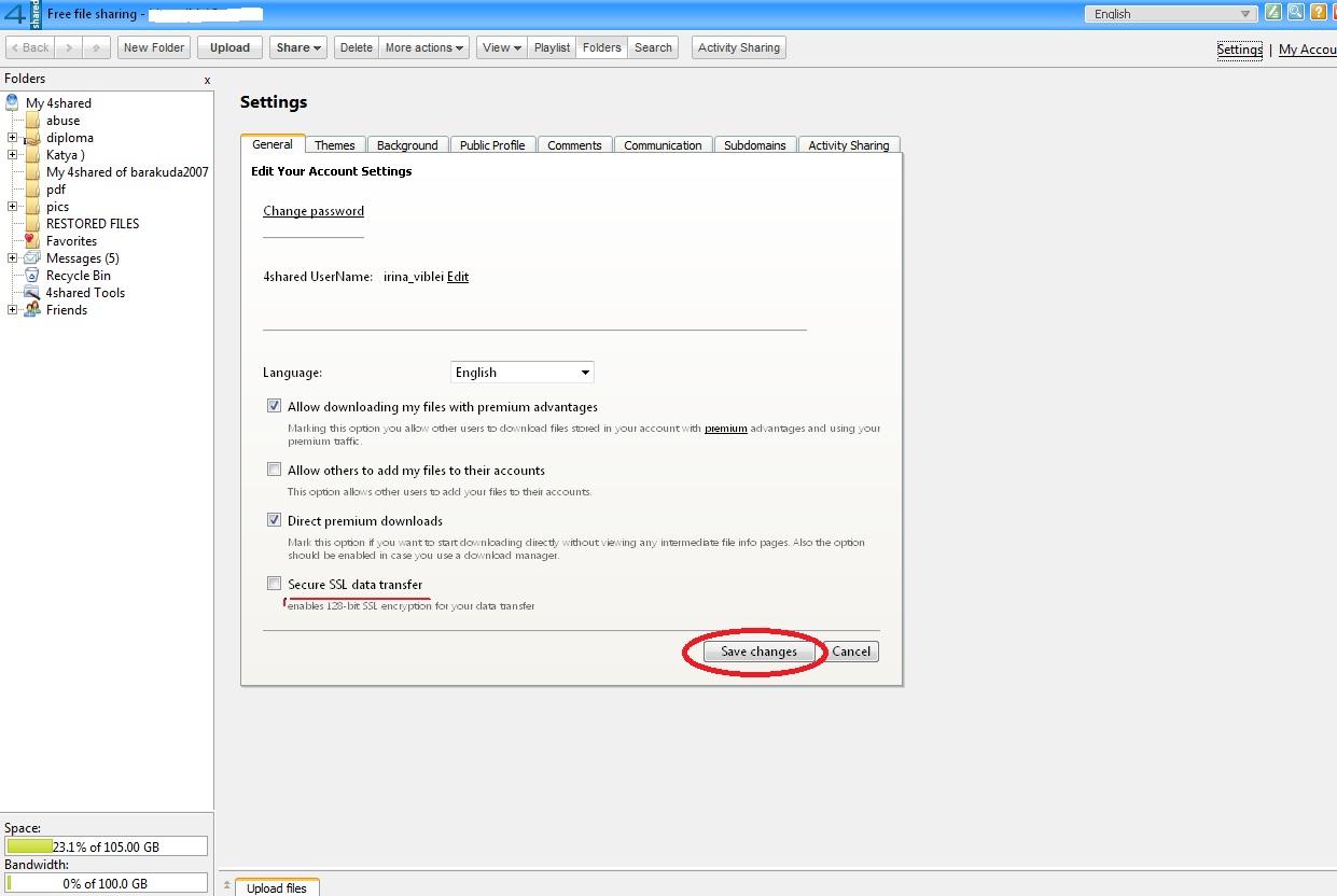 Secure SSL data transfer box - 4shared wiki